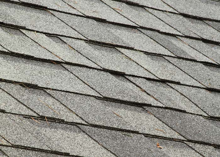 asphalt shingles on roof in Brighton